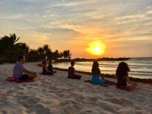 tulum sunrise meditation