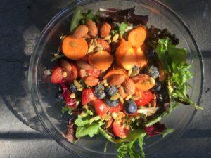 greens, vegan salad