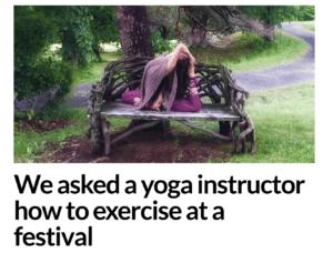 The Tab Interview, leigha butler, yoga, festivals