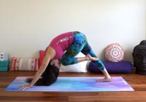 Core Strengthening, Knee to Nose - Third Chakra Yoga Pose, chakras